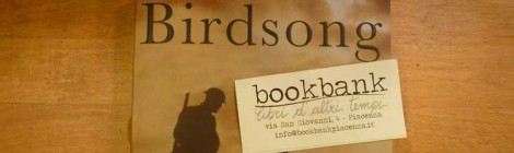 Jane's choice: BIRDSONG, Sebastian Faulks