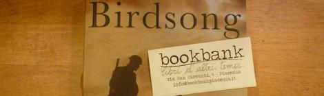 Jane's choice: BIRDSONG, Sebastian Faulks