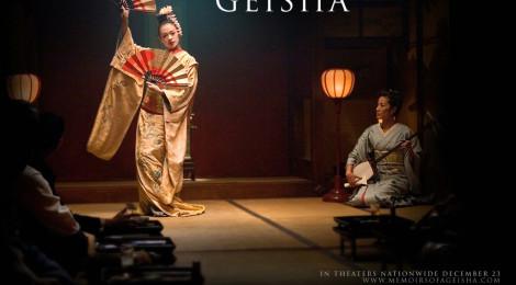 Teatime with... memoirs of a Geisha
